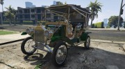 Ford T 1910 Passenger Open Touring Car for GTA 5 miniature 3