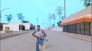 Sprinting With Two Handed Weapons для GTA San Andreas миниатюра 1