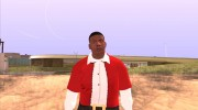 Franklin Santa Claus clothing for GTA San Andreas miniature 1
