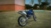 Yamaha YZ450F 2003 v2.1 for GTA Vice City miniature 3