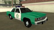 Ford LTD Crown Victoria 1991 San Diego County Sheriff for GTA San Andreas miniature 2