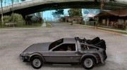 Crysis Delorean BTTF1 for GTA San Andreas miniature 2