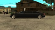 BMW E66-7 Series Limousine from Brazil для GTA San Andreas миниатюра 3