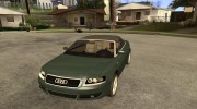 Audi A4 Cabrio for GTA San Andreas miniature 1