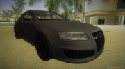 Audi RS6 W12 TT Black Revel for GTA Vice City miniature 2