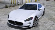 Maserati GranTurismo S for GTA 5 miniature 1