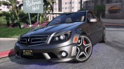 2014 Mercedes-Benz C63 AMG W204 1.0 for GTA 5 miniature 1