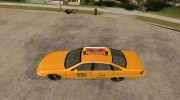 Chevrolet Caprice Taxi 1991 for GTA San Andreas miniature 2