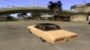 Ford Thunderbird 1964 for GTA San Andreas miniature 3