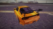 Mazda RX-7 FD3S Tuning for GTA Vice City miniature 4