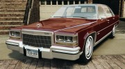Cadillac Fleetwood Brougham Delegance 1986 для GTA 4 миниатюра 1
