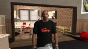 The Warriors shirt for GTA San Andreas miniature 1