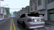 Toyota Altezza for GTA San Andreas miniature 3