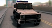 Mercedes-Benz G65 AMG BIH Police Car для GTA San Andreas миниатюра 7
