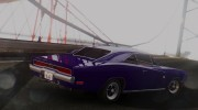 1970 Dodge Charger R/T 440 (XS29) для GTA San Andreas миниатюра 8