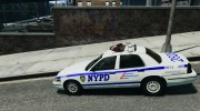 Ford Crown Victoria NYPD for GTA 4 miniature 2