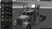 Kenworth W900 for Euro Truck Simulator 2 miniature 4
