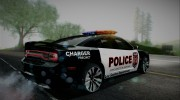 2012 Dodge Charger SRT8 Police interceptor LSPD для GTA San Andreas миниатюра 4