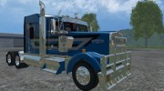 Kenworth W900L for Farming Simulator 2015 miniature 3