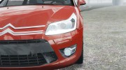 Citroen C4 Coupe Beta для GTA 4 миниатюра 12