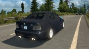 BMW 5-Series E39 for Euro Truck Simulator 2 miniature 4