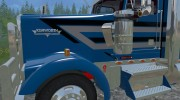 Kenworth W900L for Farming Simulator 2015 miniature 6