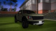 Ford F-150 SVT Raptor Stock for GTA Vice City miniature 2