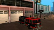 Paintable in the two of the colours of the Firetruck by Vexillum for GTA San Andreas miniature 11