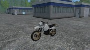Kawasaki KLR650 for Farming Simulator 2015 miniature 1