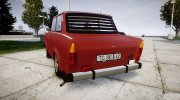 Trabant 601 Deluxe 1981 for GTA 4 miniature 2