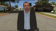 GTA V Trevor Coal Suit для GTA San Andreas миниатюра 1