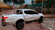 Mitsubishi L200 Triton for GTA San Andreas miniature 2