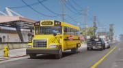 Caisson Elementary C School Bus для GTA 5 миниатюра 2