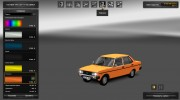 FIAT 131 for Euro Truck Simulator 2 miniature 8
