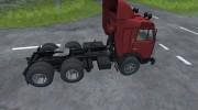 КамАЗ 54115 for Farming Simulator 2013 miniature 8