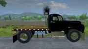 Mack B63 Flatbed for Farming Simulator 2013 miniature 3