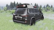 Lexus LX 570 for Spintires 2014 miniature 2
