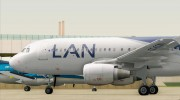 Airbus A320-200 LAN Airlines - 80 Years Anniversary (CC-CQN) for GTA San Andreas miniature 20