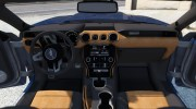 Ford Mustang GT 2015 v1.1 for GTA 5 miniature 2