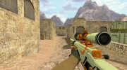 AWP Azimov из CS GO for Counter Strike 1.6 miniature 1