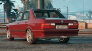 BMW M5 E28 1988 for GTA 5 miniature 2