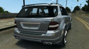 Mercedes-Benz ML63 AMG Brabus for GTA 4 miniature 3