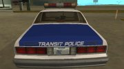 Chevrolet Caprice 1987 NYPD Transit Police for GTA San Andreas miniature 7