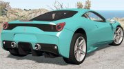 Ferrari 458 Speciale 2014 for BeamNG.Drive miniature 2