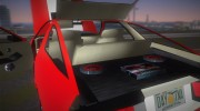 Dodge Daytona Turbo CZ 1986 for GTA Vice City miniature 8