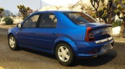 2008 Dacia Logan v2.0 FINAL for GTA 5 miniature 4