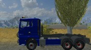 MAN TGX HKL with container v 5.0 Rost for Farming Simulator 2013 miniature 2