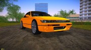 Nissan Silvia S13 Black Revel for GTA Vice City miniature 1