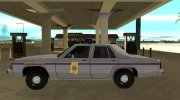 Ford LTD Crown Victoria 1991 Mississippi State Trooper for GTA San Andreas miniature 5