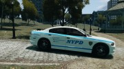 Dodge Charger NYPD 2012 for GTA 4 miniature 5